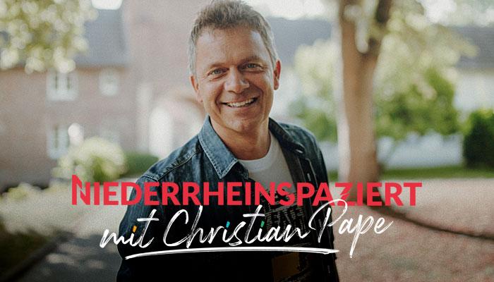 NIEDERRHEINSPAZIERT - Christian Pape unterwegs am Niederrhein