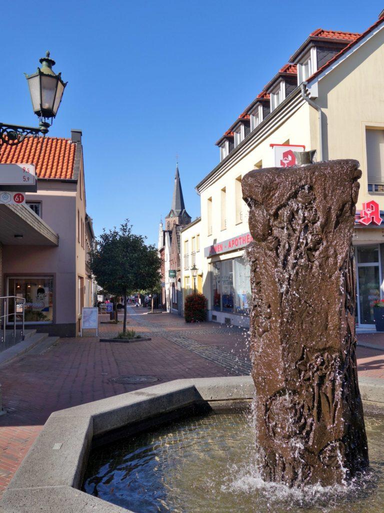 Ein Blick in die Venloer Straße.